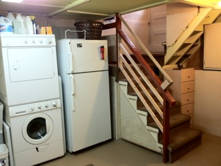 Basement Remodel Laundry & Stairs