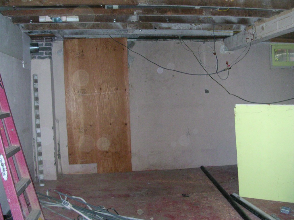 Basement Remodel Project - Before Remodel